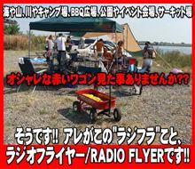 大人のおもちゃ ラジオフライヤー Radio Flyer ワゴン