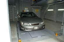 ようやく立体駐車場の・・