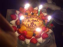 ケーキ投入