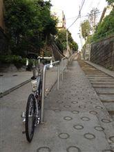 坂巡り5 鼠坂(階段付き)