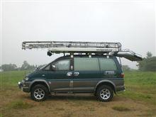 久々の無線移動風景(岡山県加賀郡吉備中央町)