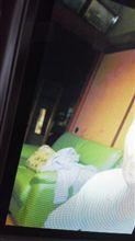 心霊写真,女が鏡の横に