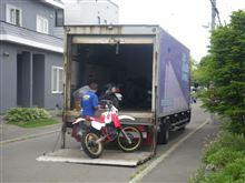 バイク専門の陸送屋さんの話 DTは宮城県へ(^^)/