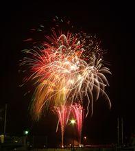 三浦半島の夏を告げる。 2012久里浜ペリー祭花火大会