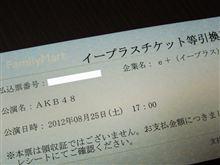 AKB48東京ドームコンサートチケット