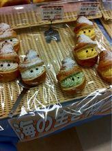 ヤドカリ+パン