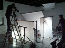 今日はスタジオで撮影してもらってました(^_^)b