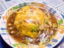 晩ご飯に天津飯を作りました。