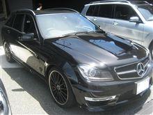 C 63 AMG Stationwagon を試乗してみる Mercedes-Benz Experience 2012年7月16日 ☆