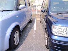 結局斜めだろ~が駐車出来ればいいんだ!