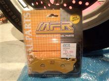 『MFR PCX用ブレーキパッド&シュー』 インプレ
