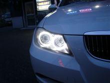 BMW (E90)にあれこれ装着!!