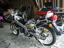 TZR125 機関のレストア完成♪ こりゃ楽しそうなバイクだ~