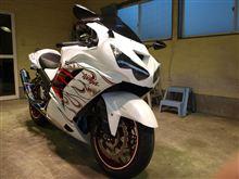 世界最速「KAWASAKI NinjaZX-14Rスペシャルエディション」のバイクコーティング