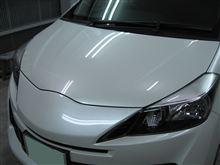 ヴィッツ ボディガラスコーティング アークバリア21施工 愛知県豊田市 倉地塗装 KRC