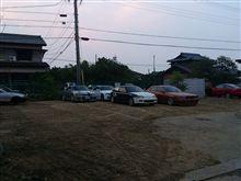 ガレージ前駐車場 リニューアル