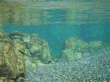 透明な水!