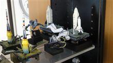 スペースシャトルを追加展示(^^