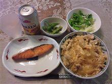 鮭+親子丼