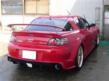 【RX-8】洗車からの~・・・の巻