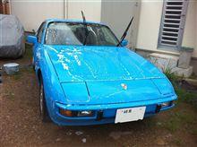 またまた雨中洗車f^_^;)