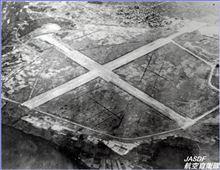 これ、昭和19年当時の小松飛行場