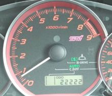 22,222km!