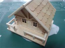 【浅知恵】 ログハウスを新築(゚o゚;