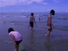 先日の海水浴から・・・昨日は(^_-)-☆
