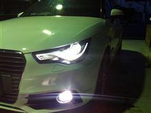 AUDI A1 SB SMARTオートライトFOGキット完成!