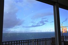 海ほたるの虹