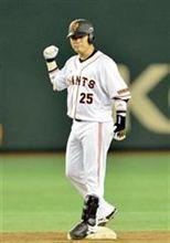 巨人・村田が決勝打「我慢して使ってもらった監督に感謝」