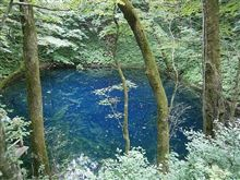 十二湖の青池
