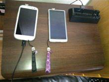 COACH ミニシグネチャー携帯ストラップ