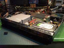 ブルーレイレコーダー、D-BZ500。