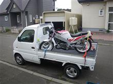 オークションに出品したバイクを、無人でフェリーに載せる・・・の巻♪
