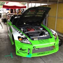 本日は岡山国際サーキットでスーパー耐久レース!