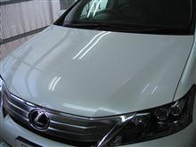レクサス ボディガラスコーティング アークバリア21施工 愛知県豊田市 倉地塗装 KRC