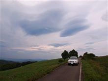 亀ヶ森牧地への林道
