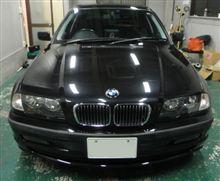BMW3シリーズ キズ消し (ガラスコーティング 大阪)