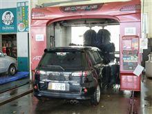 水曜日は洗車の日(DY5W デミオSPORT)