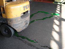 緑色の液体が・・・・・オーバーヒートだ!(^^ゞ