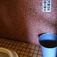 伊勢神宮のトイレにて