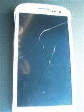 ガラス割れた
