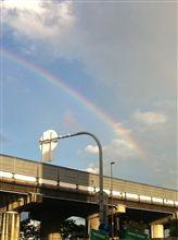 5時の虹♪