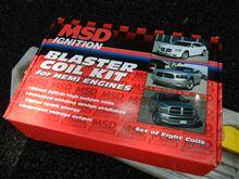 MSD Blaster Coils装着