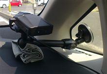 新しいプリウスにもドライブレコーダーを仮設置