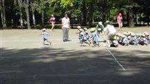 昨日、幼稚園運動会のリハーサルがあったとか・・。