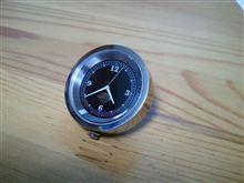 気が付いたら時計が・・