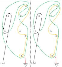 バトルジムカーナ2012 Rd.3 コース図